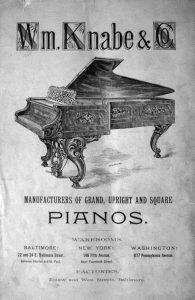 Knabe Advertisement 1889
